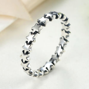 Fashion Little Star 925 Sterling Silver Ring pictures & photos