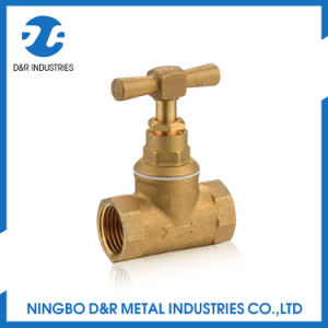High Quality Standard Brass Stop Valve for Water pictures & photos