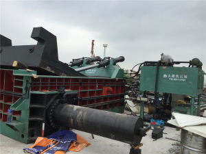 Y81f-250 Scrap Metal Baling Machine pictures & photos