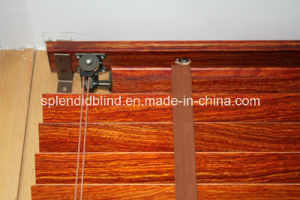 50mm High Profile Headrail Wooden Blinds (SGD-W-6514) pictures & photos