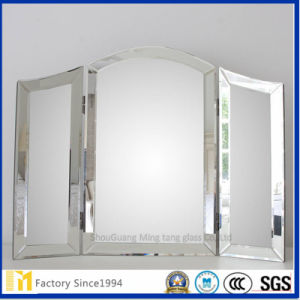 Silver Bathroom Wall Mirror with Europe SGS and Ce Certificate pictures & photos