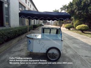 Italian Ice Cream Carts /Gelato Cart Display Freezers for Sale pictures & photos