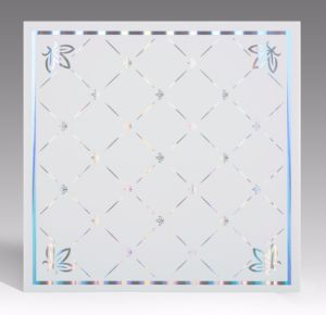 Cheaper PVC Ceiling Panel Ceiling Tile PVC Square Panels for Ceiling pictures & photos