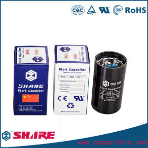 Refrigerator Motor Start Capacitor and Air Conditioner Capacitor pictures & photos