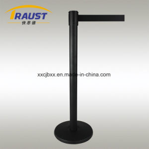 Retractable Belt Stanchion with 350mm Dia Iron Base pictures & photos