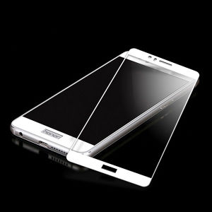 Full Covered HD Anti Fingerprint Silk-Screen Printing Tempered Glass Film for Huawei Glory 8 pictures & photos
