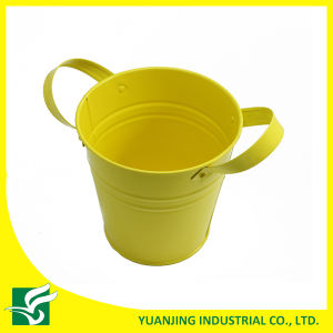 Powder Coated Metal Garden Decoration Flower Pot pictures & photos