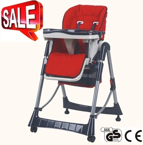 High Quality Baby Plastic High Chair with En14988 Approved (CA-HC003) pictures & photos
