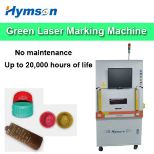 Fiber Machine Green Laser Marking for Pharmaceutical Packaging Bottles Surface Marking pictures & photos