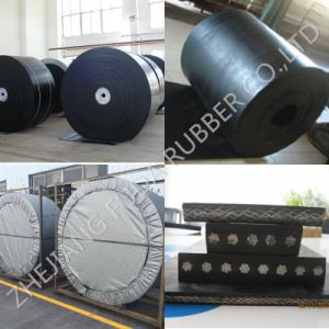 Mine, Stone, Sand Cement Fabric Nylon Nn Ep Cc56 Tc70 Steel Cord Black Rubber Conveyor Belt / Belt Conveyor pictures & photos
