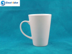 Customize White Porcelain Cup with Custom Logo pictures & photos