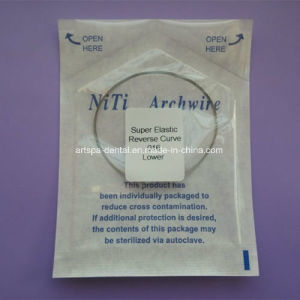 Dental Niti Archwire Reverse Curve Archwire Round Size Orthodontic pictures & photos