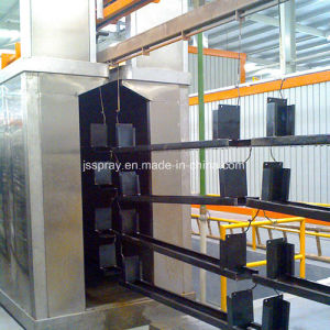 Automatic Paint Production Line with Baking Room pictures & photos