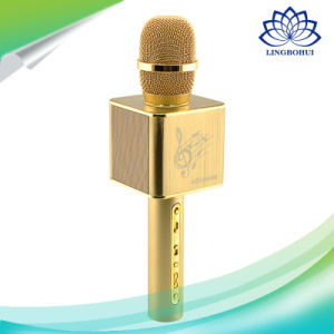 Portable Bluetooth Wireless Stereo Microphone with Speaker pictures & photos