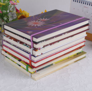 Color Paper Hardcover Customized Printing Drawings Notebook pictures & photos