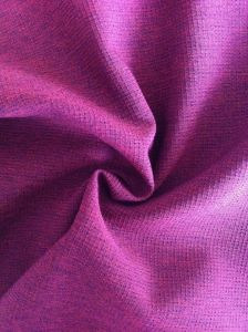 Polyester Cationic Check 4 Way Spandex Fabric for Jackets pictures & photos