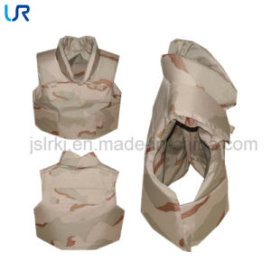 Soft Kevlar Bulletproof Vest with Neck and Shoulder Protector pictures & photos