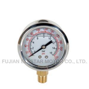 Stainless Steel Pressure Gauge-Bottom Pressure Gauge pictures & photos