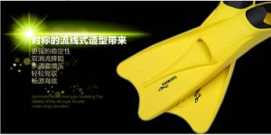 Thenice Snorkeling Long Flippers Webbed Flippers Scuba Surfing Suit Yellow S36-38 pictures & photos