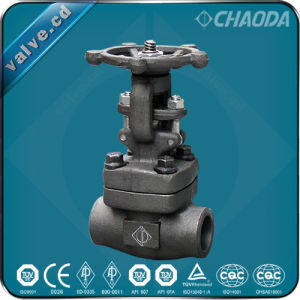 Chaoda Socket Welded/Sw Ends Forged Gate Valve pictures & photos