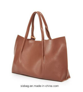 Newest Special Lichee Soft PU Handbag Leather Bag for Women pictures & photos