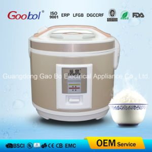 Rice Cooker with Gold Color Lid & Body pictures & photos
