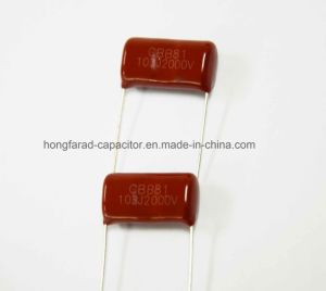 High Voltage PPS 103j2000V Polypropylene Film Capacitor pictures & photos