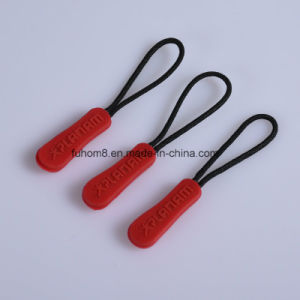 Custom Design Silicon Zipper Pull/Zipper Puller pictures & photos