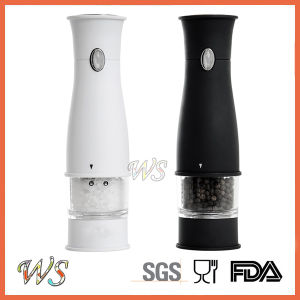 Ws-Pgs016 Electric Salt and Pepper Grinder Set Spice Mill Set pictures & photos