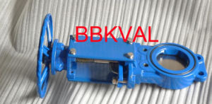 Iron Knife Gate Valve Rising Stem pictures & photos