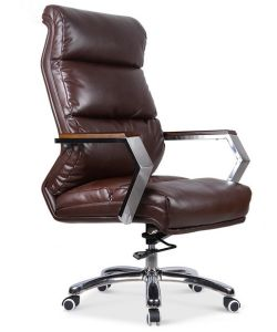 Elegant Design Aluminium Base Leather Arms Executive Office Chair (NS-6C113) pictures & photos