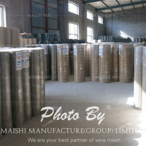 1/2′′x1/2′′ Green PVC Coated Welded Wire Mesh Panel Fence Suppiler pictures & photos
