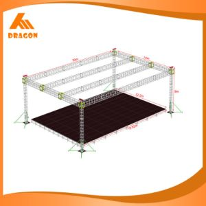 Used Aluminum Arched Roof Truss, Triangle Truss Stand (TP03-10) pictures & photos
