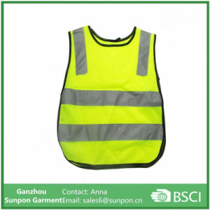 High Visibility Simple Style Children′s Reflective Warning Vest pictures & photos