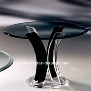 Modern Clear Acrylic Squre Dining Table (BTR-Q7003) pictures & photos
