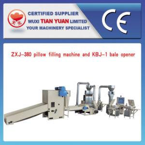 Automatic Pillow Filling Machine (ZXJ-380+HFM-2000) pictures & photos