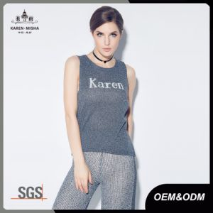 Womens Knit Sweater Vest pictures & photos