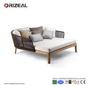 Outdoor Teak Wooden Daybed with Braid Oz-Or075 pictures & photos