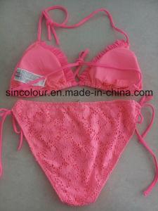 Jacquard Fabric of Ladies Sexty Bikini pictures & photos