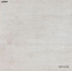 New Design Interior Flooring Non-Slip Matte Grey Cement Floor Porcelain Tile (600X600mm)