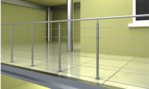 Polished Stainless Steel Stair Balustrade Handrail Post pictures & photos