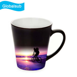 Heat Sensitive Color Changing Latte Mugs With Your Won Design 12oz