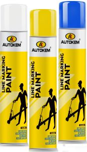 Autokem Line Marking Paint, Aerosol Line Marking Paint, Road Marking Paint pictures & photos