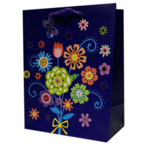 Wholesales Custom High Quality Cheap Logo Printed Personalized Paper Bags pictures & photos
