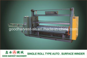 Single Roll Type Auto. Surface Winder for PVC Calender Line pictures & photos