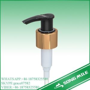 24/410 Aluminum Collar Lotion Pump Cream Pump for Shower Gel pictures & photos