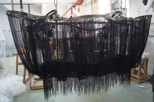 Big Black Chain Chandelier (KA107B) pictures & photos