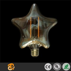 2W Five Pointed Star Filament Decorative LED Bulb pictures & photos