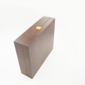 Promotional OEM ODM Customized Wood Wooden Box (J101) pictures & photos