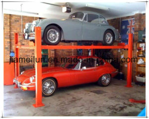4 Post Elevator Car Lifts for Home Garages pictures & photos